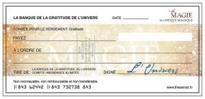 chèques d'abondance
