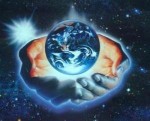 un monde en main