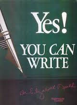 yes you can write
